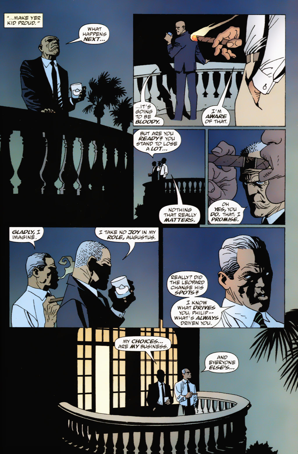 Read online 100 Bullets comic -  Issue #63 - 15