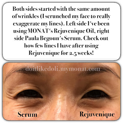 MONAT Rejuveniqe Oil Intensive reducing fine lines and wrinkles