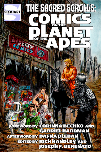 Giant-Size Geek: Sacred Scrolls: Comics on the Planet of the Apes