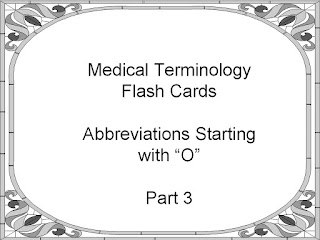 Student Survive 2 Thrive Medical Terminology Abbreviations