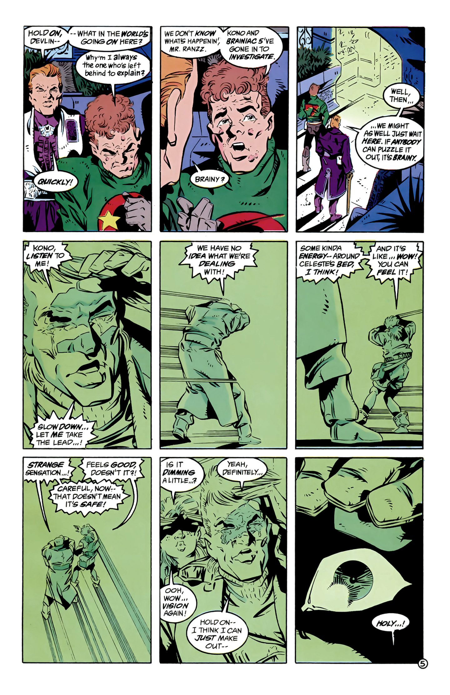 Legion of Super-Heroes (1989) 12 Page 5