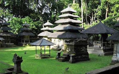 Lokasi Alas Kedaton Tabanan Bali