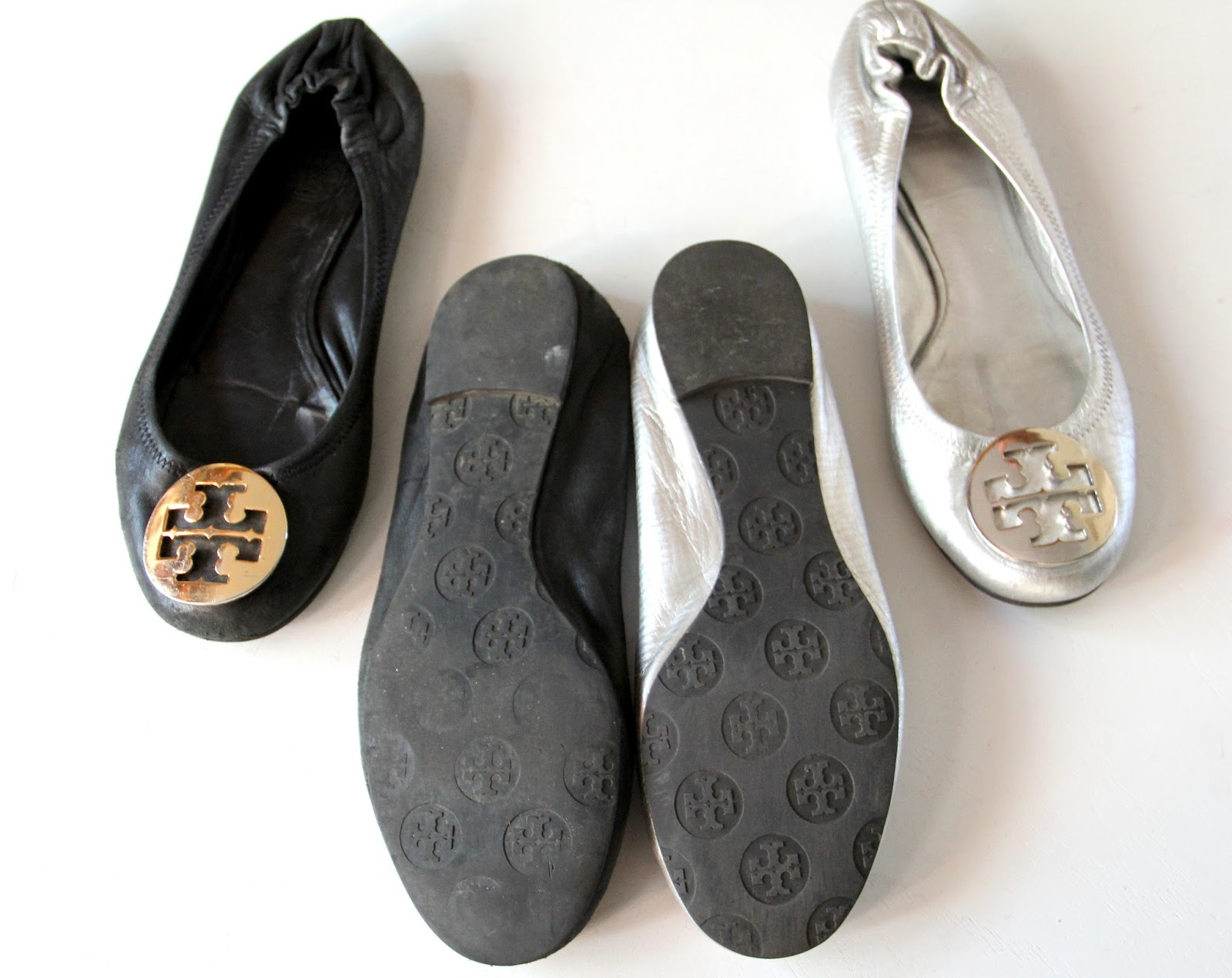 585b02fb4d5a Soles- Reva soles are rubber and can bend. They have circular logos  embossed into the rubber. The heel part does not have the circular logos on  it.
