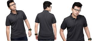 Mua áo thun cá sấu màu đen mạnh mẽ và cá tính
