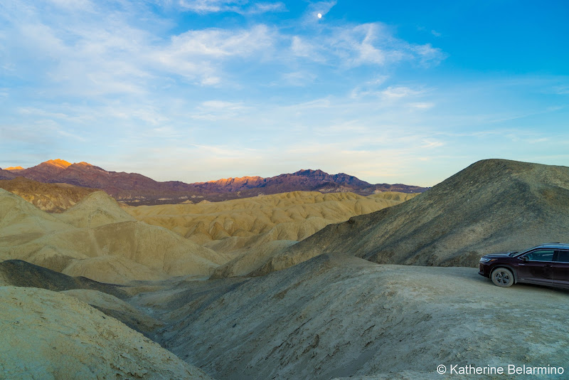 Twenty Mule Team Canyon Death Valley Road Trip Itinerary