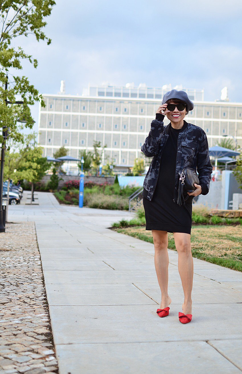 Black and grey look street style