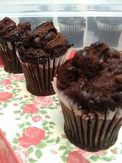 Resep Brownies Milo Kukus Toping Chocochip