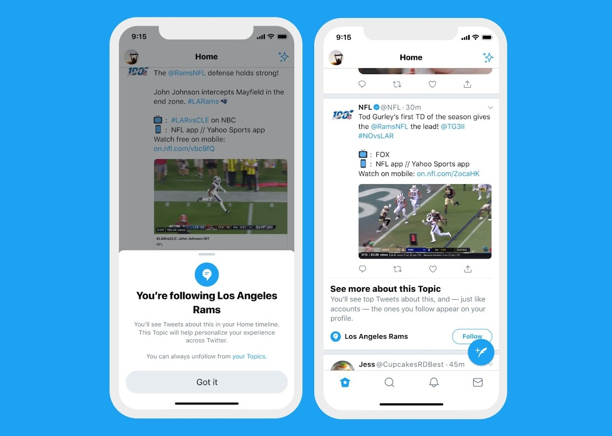 "Twitter's ""Topics"" Feature Test Gets Wider Rollout"