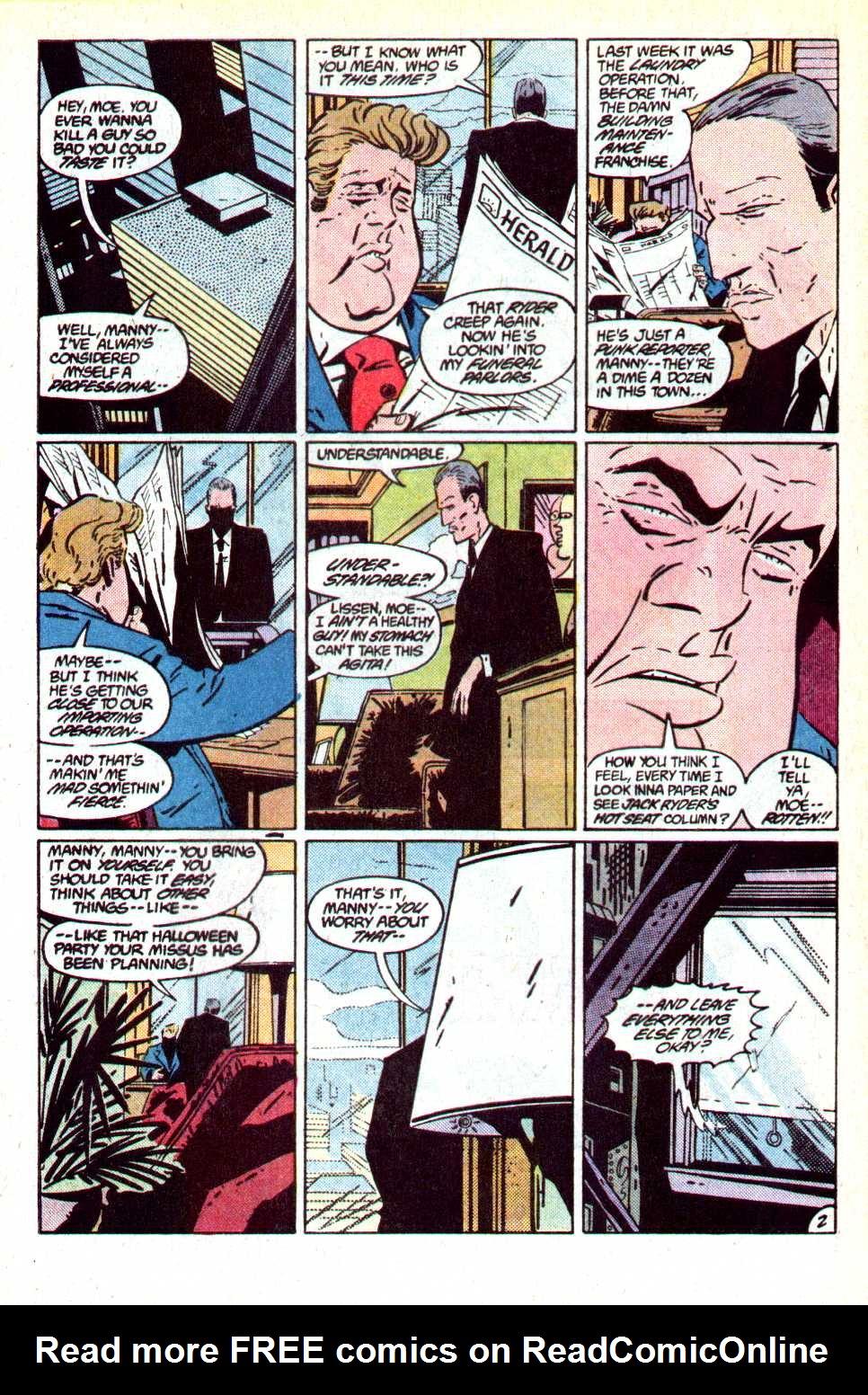 Read online Secret Origins (1986) comic -  Issue #18 - 3