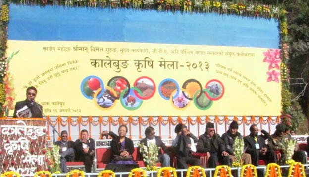 Kalimpong - Krishi Mela from January 13 in Relitar