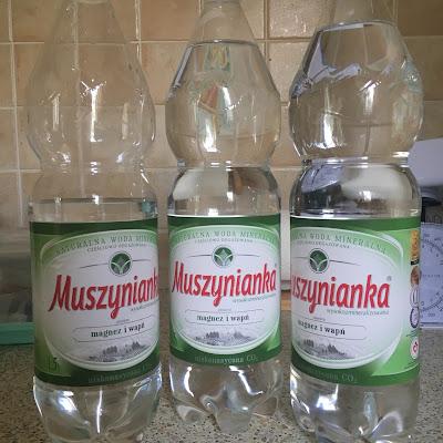 Woda- Muszynianka i 15 powodów dlaczego warto pić wodę !