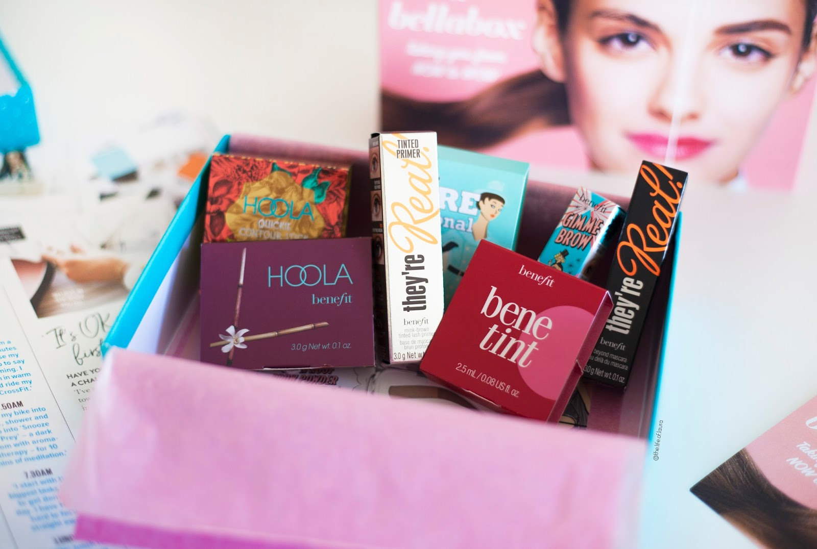 Bellabox x Benefit