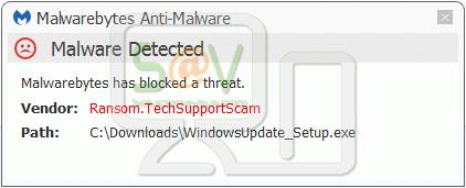 Ransom.TechSupportScam