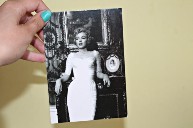 kartka z Marilyn
