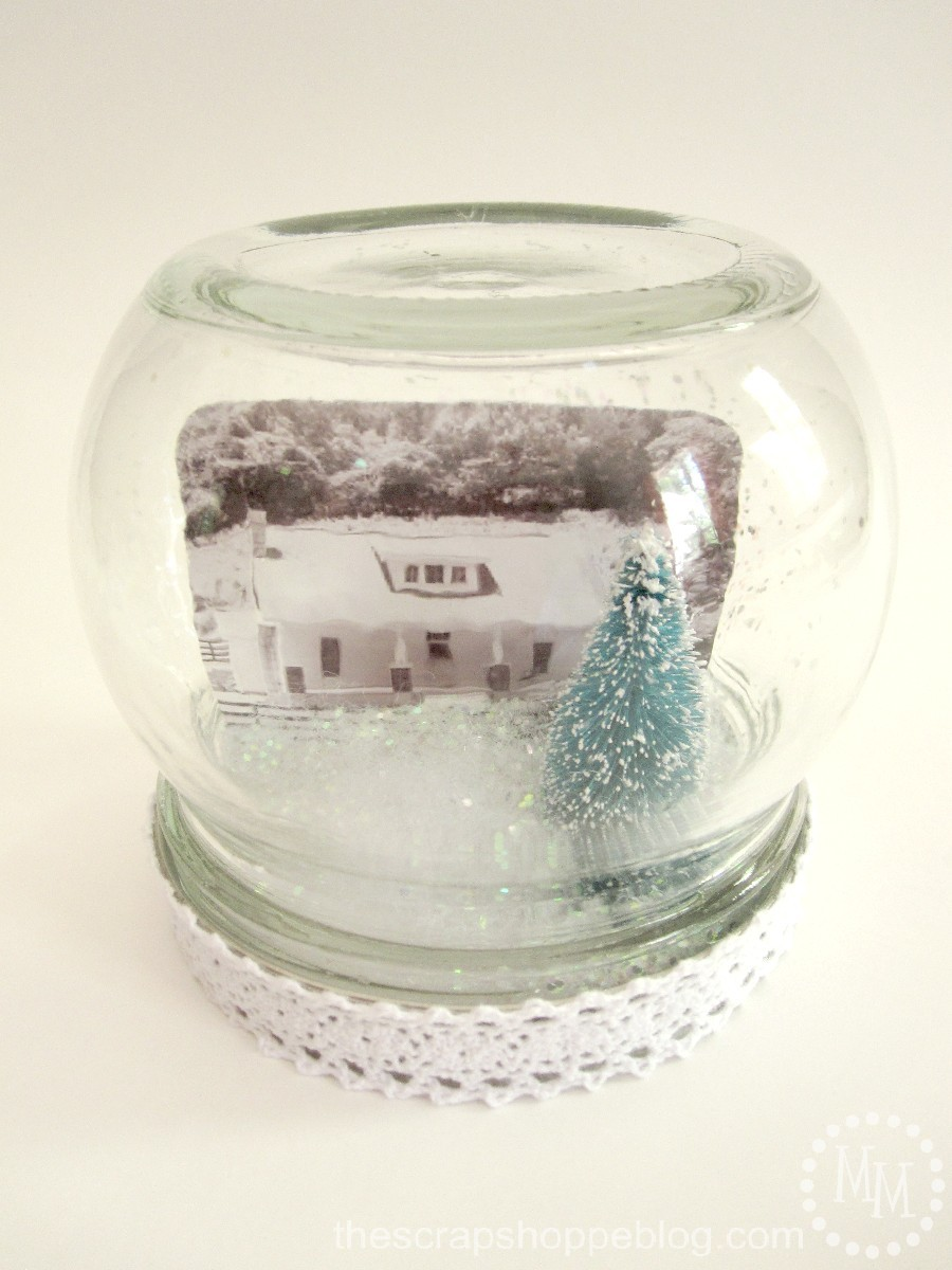 Workshop Wednesday Personalized Snow Globe The Scrap Shoppe