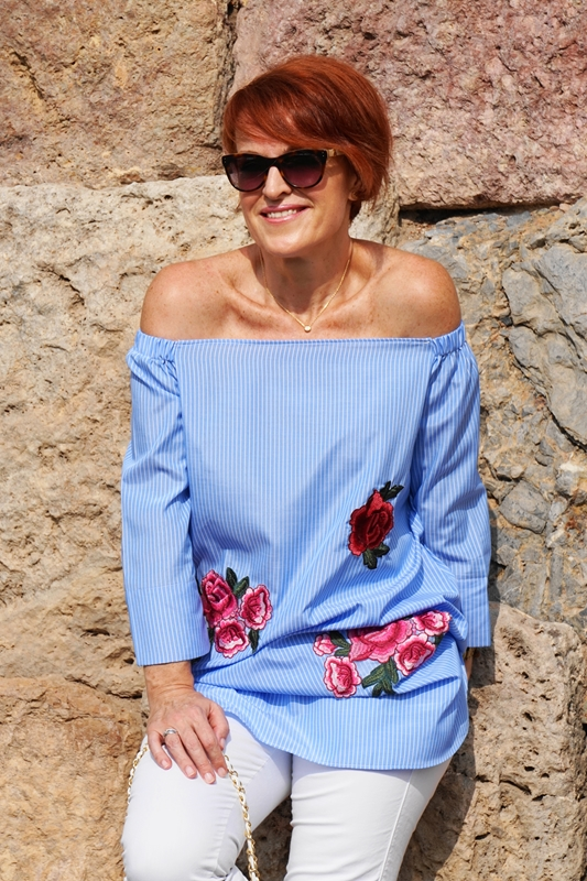 "¡Looks Inspiradores! ""Off the shoulder tops"""