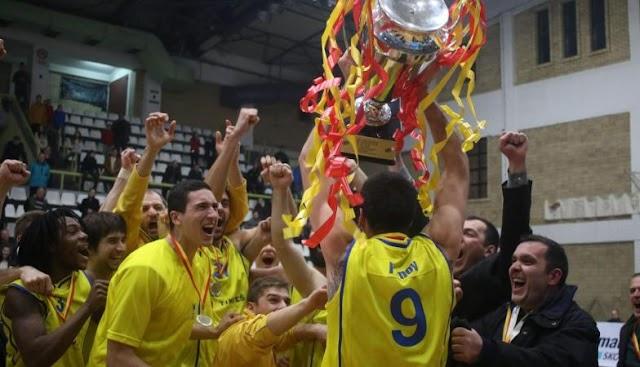 Karposh Sokoli Wins Macedonian Basketball Cup for first time