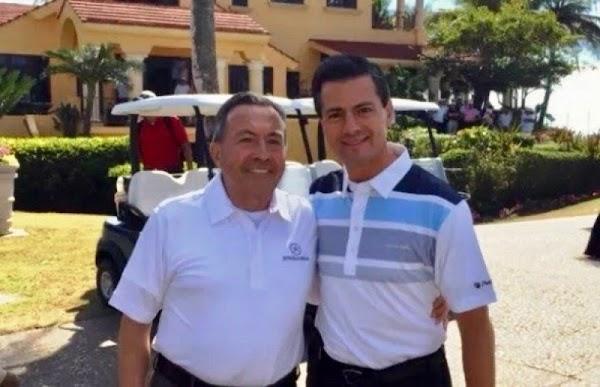 Para EPN el golf es una prioridad lo practica cuando el pais está en calma...o en crisis.