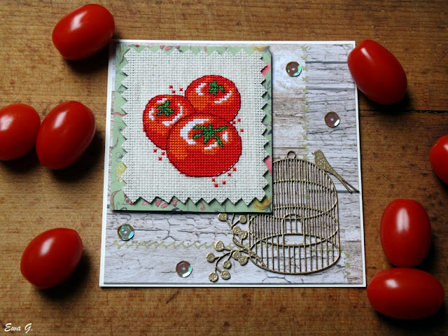 Moja kartka - warzywa
