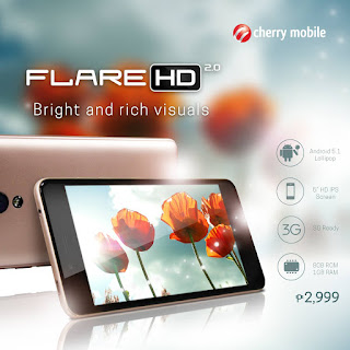 Cherry Mobile Flare HD 2.0 Firmware