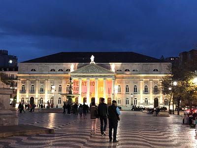 Lisboa. Teatro. Rossio
