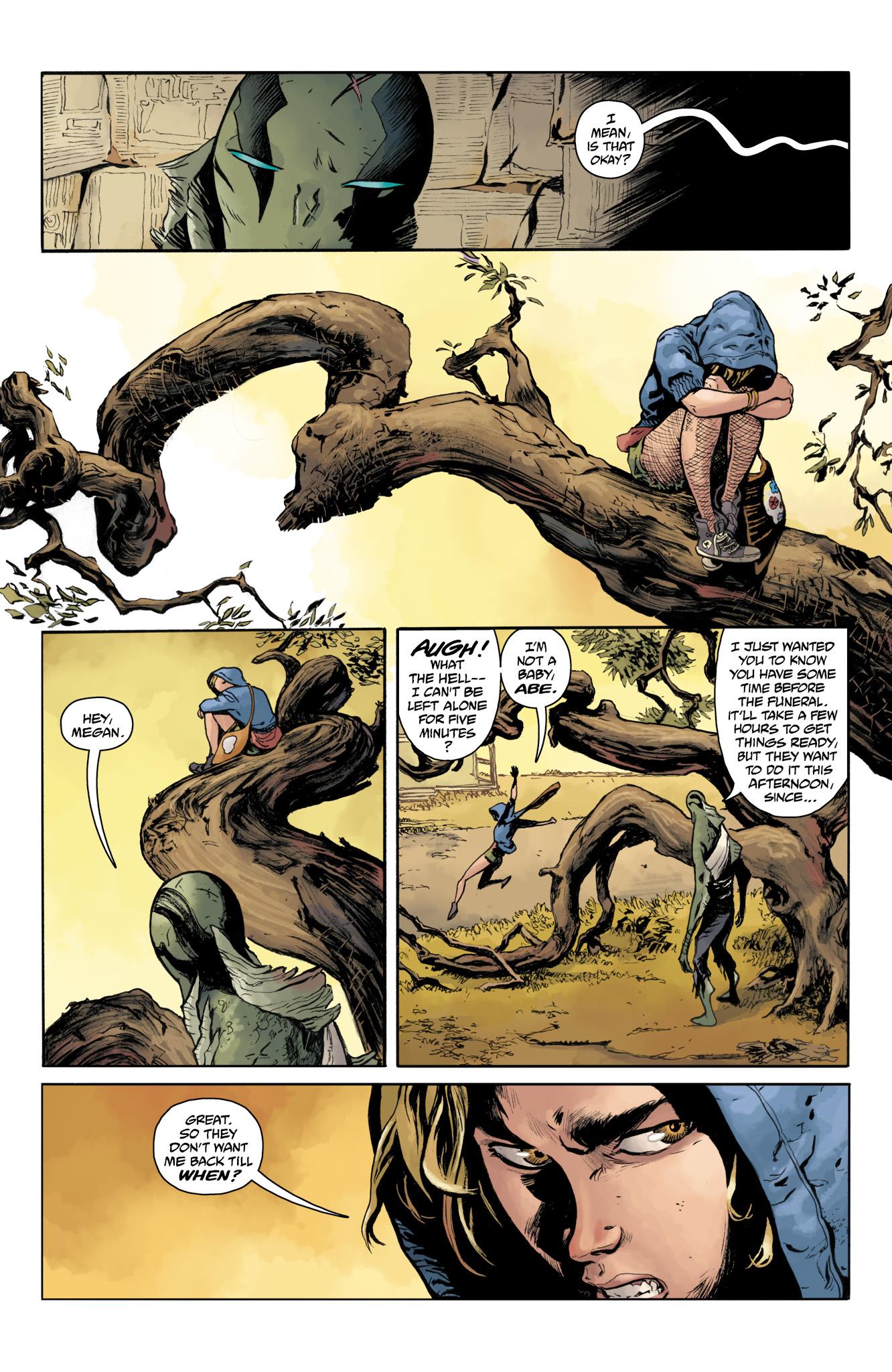 Read online Abe Sapien comic -  Issue #20 - 5