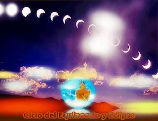 Estamos entrando en el primer ciclo de Eclipse de 2016, mantengan la claridad para que se sientan inspirados y apoyados durante el Equinoccio, así aceleren conscientemente sus desarrollos.