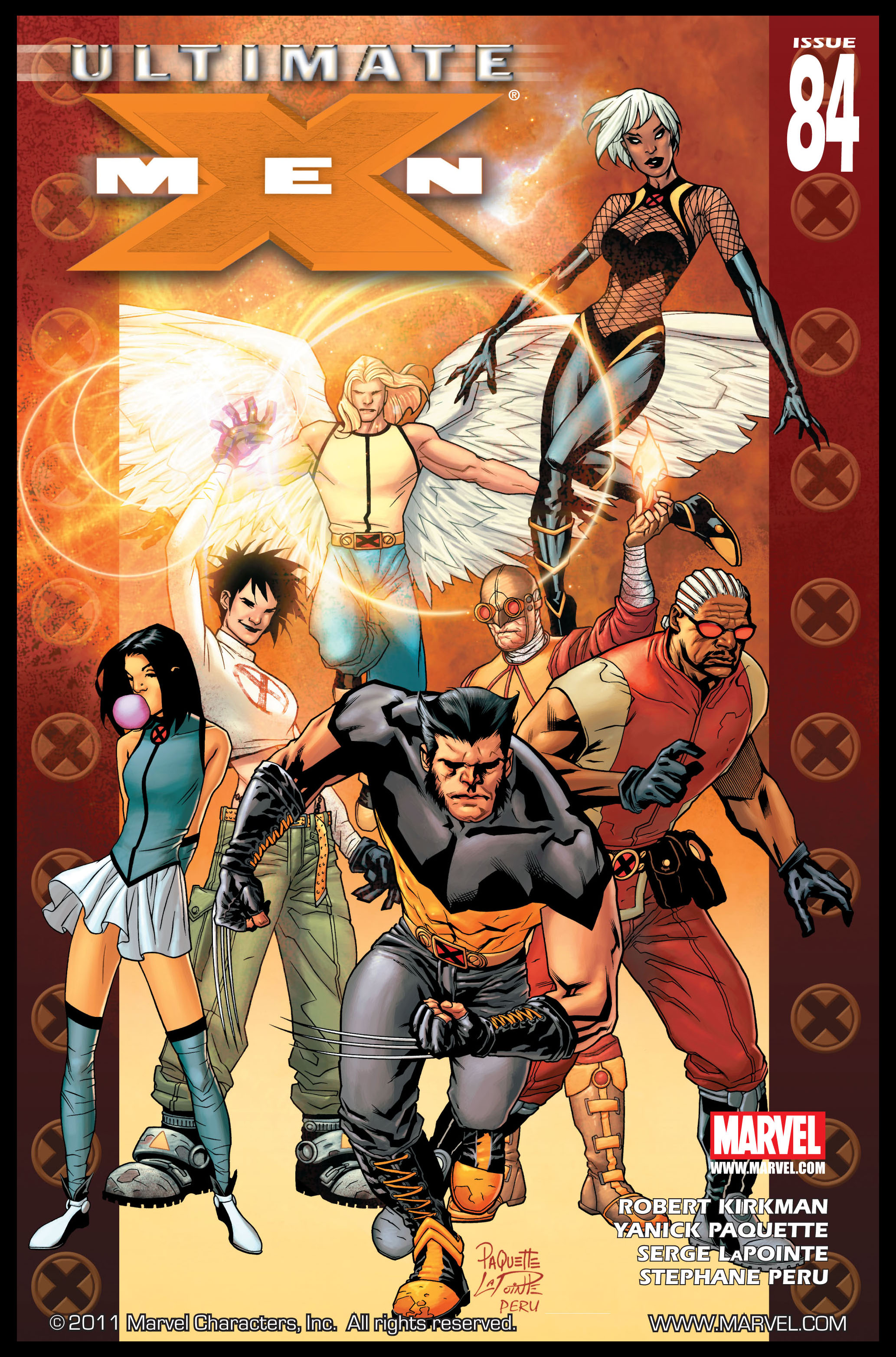 Read online Ultimate X-Men comic -  Issue #84 - 1