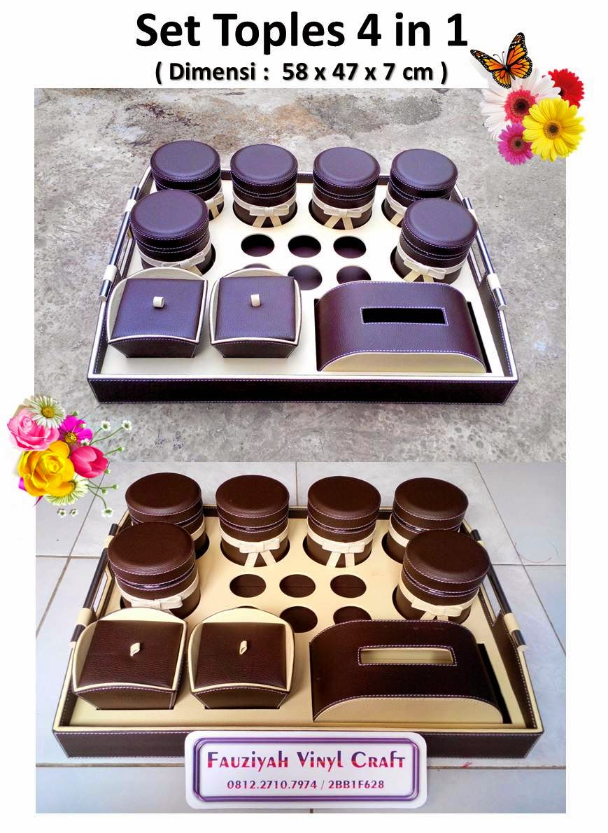 Toples Set Super Jumbo 6 in 1 / Tray Set 6 Toples, 6 Tempat Aqua, 2 Tempat Permen, 1 Box Tisue