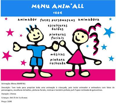 Animação Menu Anim'All