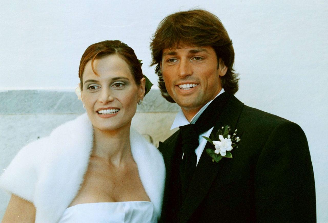 5549fbae803a Matrimonio SIMONA VENTURA e STEFANO BETTARINI del 23 aprile 1998