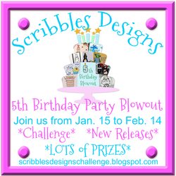 Scribbles Designs 5th Birthday Blowout Bash