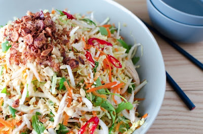 Vietnamese Salad Recipes with Ginger