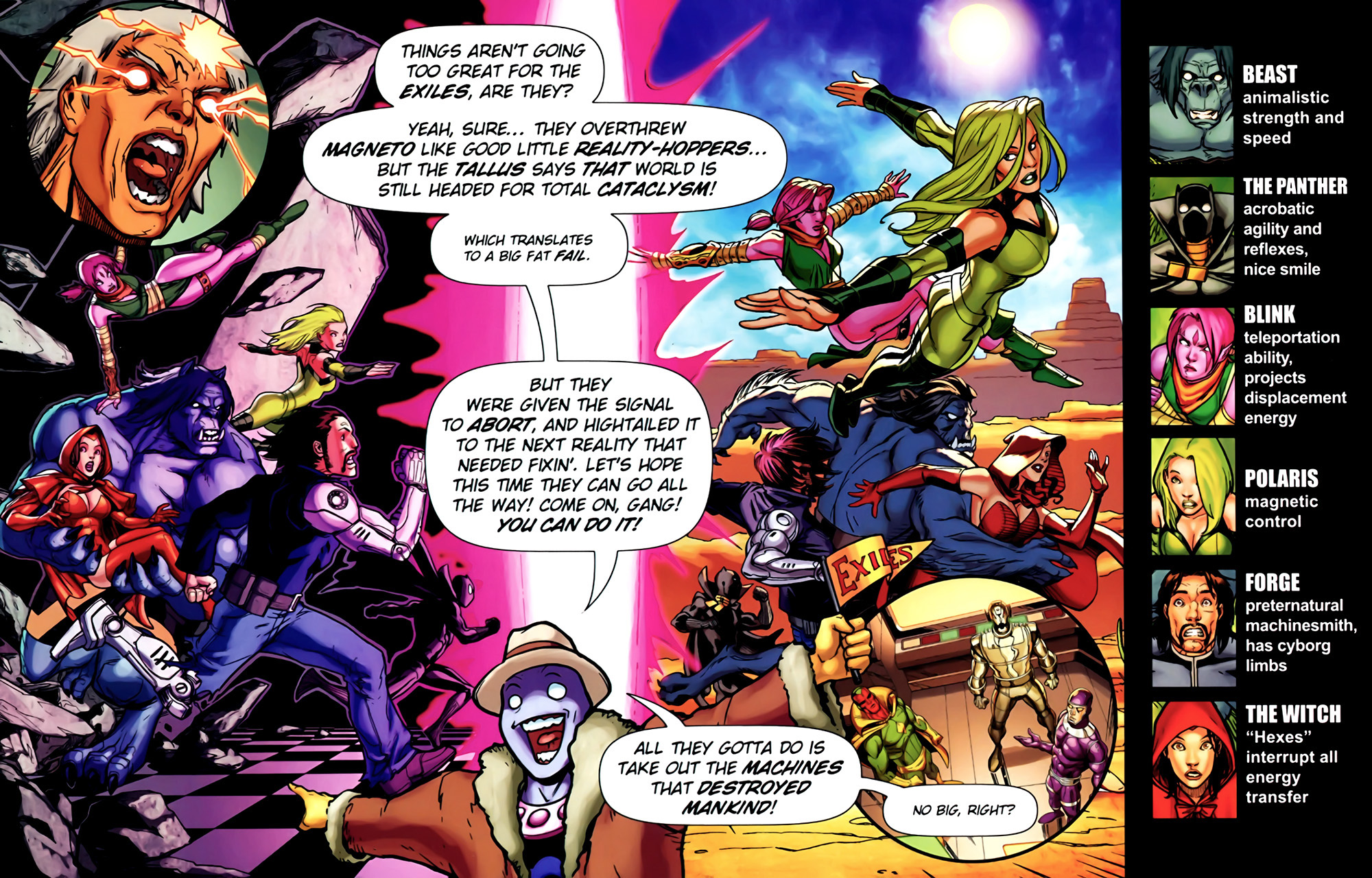 Read online Exiles (2009) comic -  Issue #4 - 2