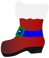 Bota de papai Noel by Stella