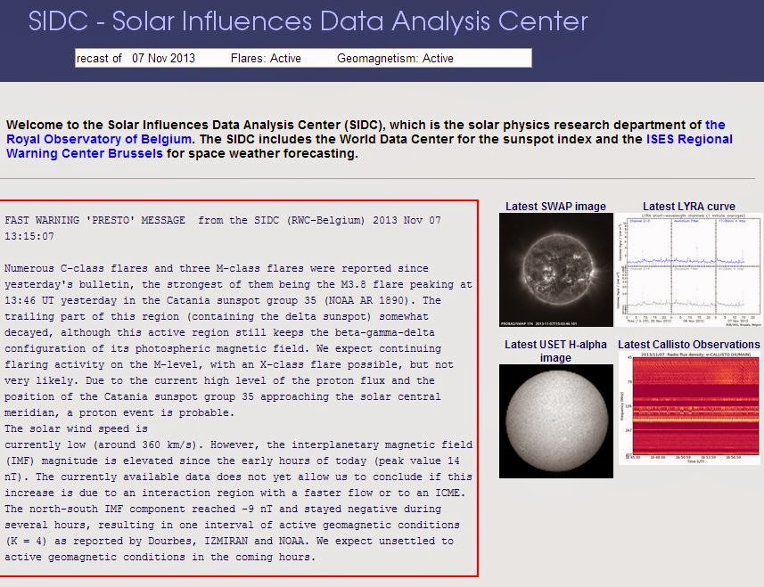 Solar Influences Data Analysis Center