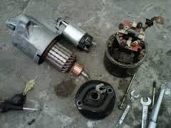 cara memperbaiki starter motor yang rusak