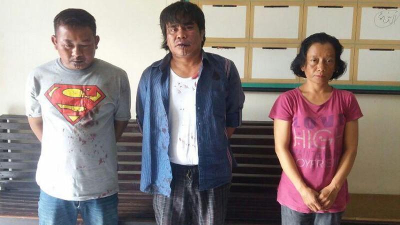 Nia Kurniawati dan komplotan penculik anaknya