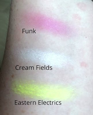 Sleek Acid Palette swatches