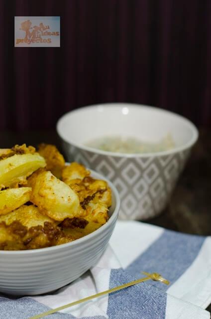 receta de las patatas rebozadas con ajo1