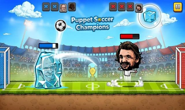 Puppet Soccer Champions Fighters League Mod apk indir