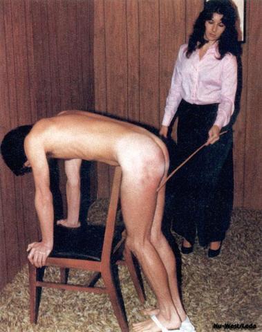 spank erection Bare