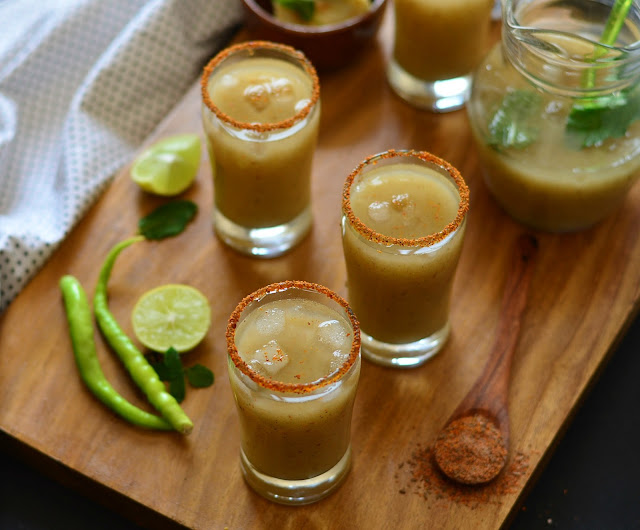 Spiced Guava Chilli Drink Recipe | Guava Chilli Mocktail Recipe