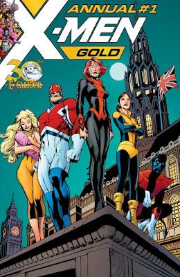 X-Men Gold Annual nº 1
