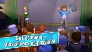 Download Game YouTubers Life Gaming Mod APK v1.0.2 Full Hack Unlimited Money Terbaru Mei 2017