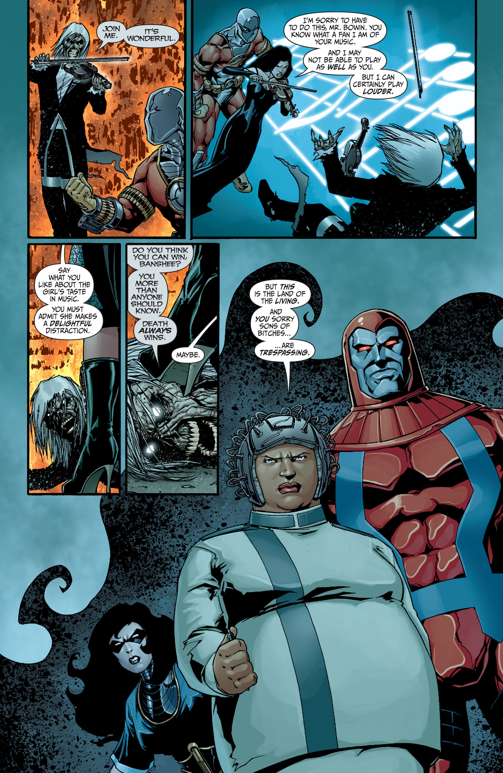 Read online Secret Six (2008) comic -  Issue #18 - 17
