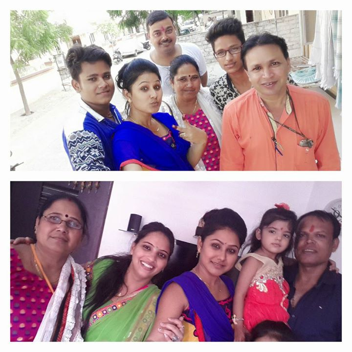 urvashi chaudhary with family photo gallery