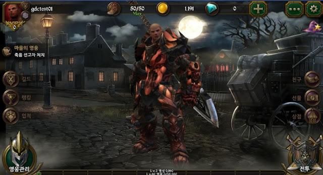 BloodWarrior v1.4.6 Mod Apk Data Terbaru