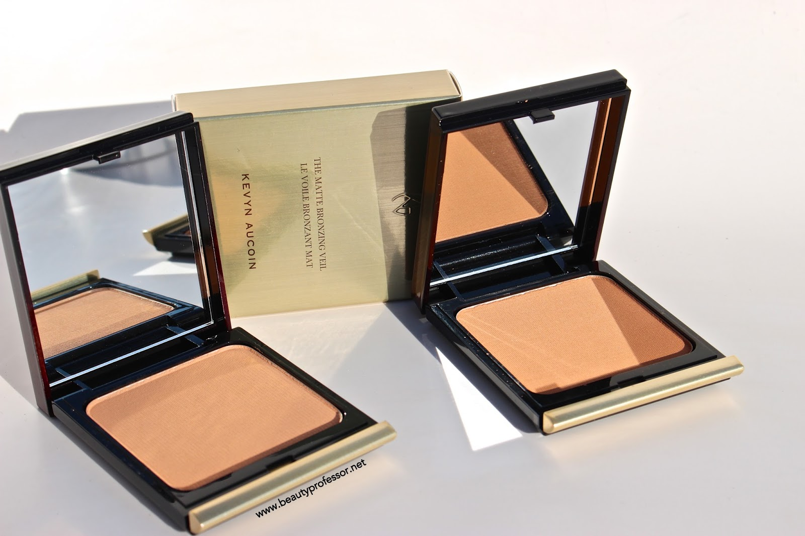 83492931d3bf Fresh Faced with a Bronze Twist  Orlane Teint Absolu + Kevyn Aucoin Matte Bronzing  Veil