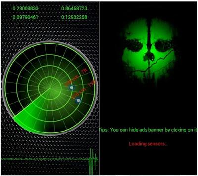aplikasi detektor hantu spektrum